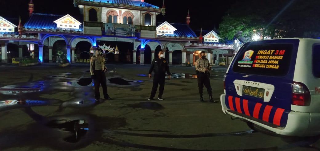 Antisipasi Balap Liar dan Kriminalitas 3C, Polsek Kenjeran Gelar Patroli Mobile