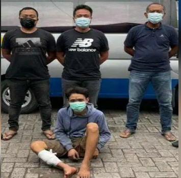 Resahkan Warga Surabaya, Seorang Pelaku Curanmor di Dor..