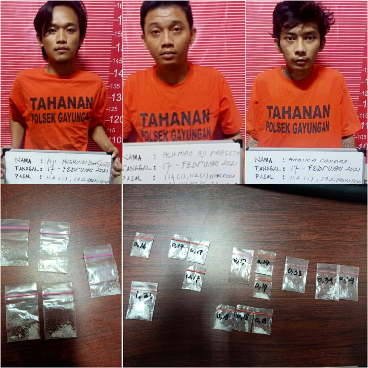 Tangkap Seorang Bandar Sabu, Polisi Juga Dapati Dua Pengguna