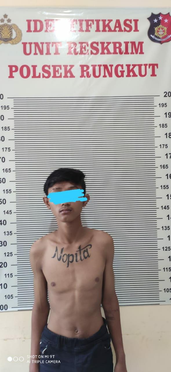 Unit Reskrim Polsek Rungkut Tangkap Pelaku Penipuan Bermodus Pura-pura Kenal