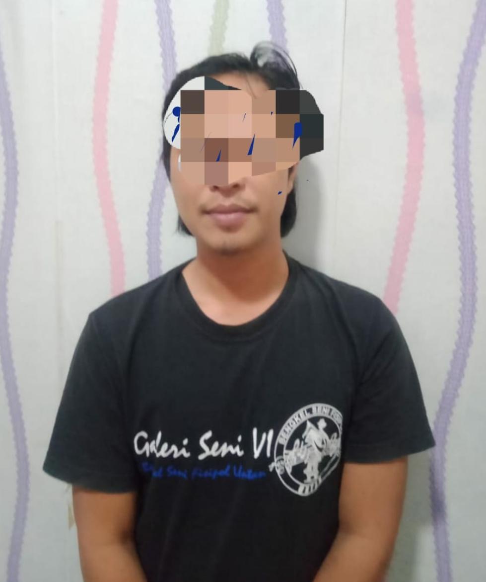 Pencuri ACCU Milik PT. Sinar Global Solution (SLGS) Jl. Tanjungsari Tertangkap