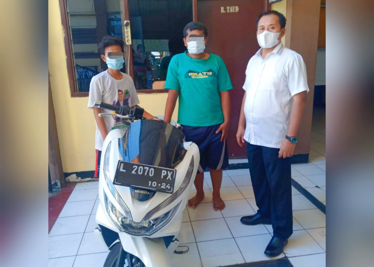 Dua Pelaku Penipuan Diciduk Unit Reskrim Polsek Kenjeran