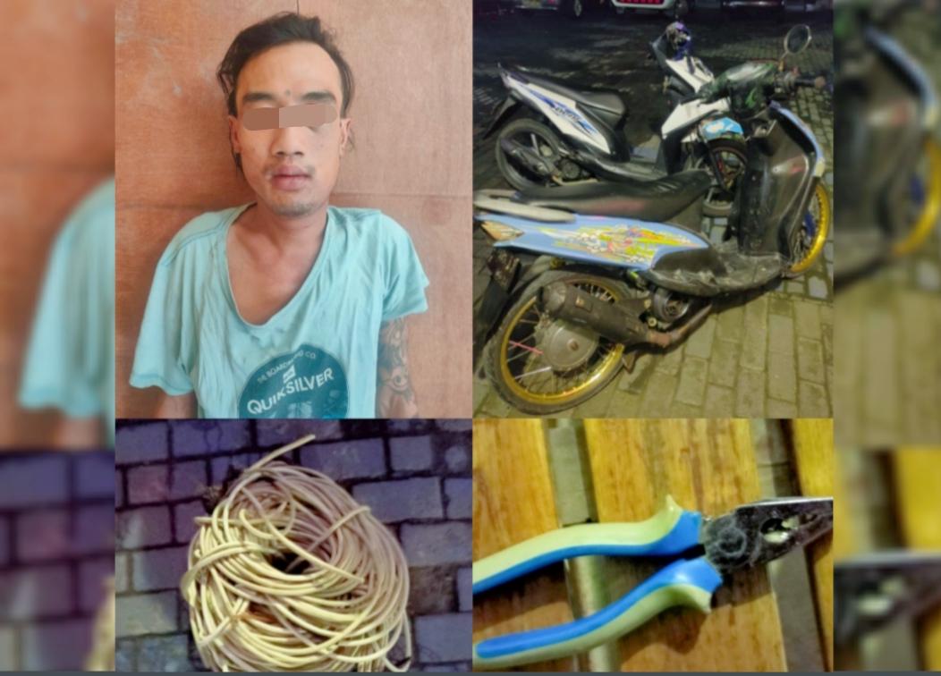 Polisi Ungkap Pencurian Kabel Jembatan Suroboyo