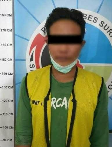 Pengedar Sabu Simo Kalangan Surabaya Tertangkap